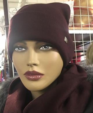 104 комплект женский(шапка+снуд)