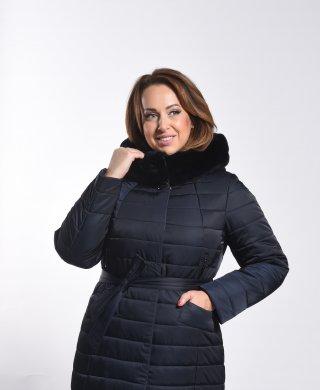 1721-1 пальто женское(мех) Klasika Moda
