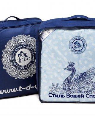 Одеяло Комфорт 140 х205 пуховое СВС