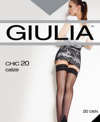 Chic 20 чулки Giulia (Джулия)