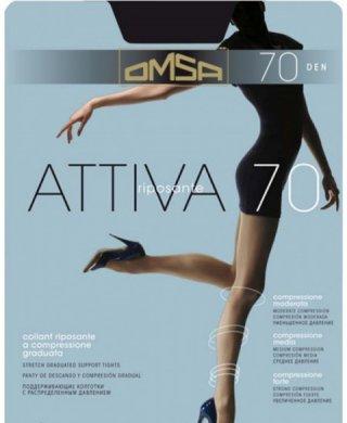 Attiva 70 XXL колготки Omsa (Омса)