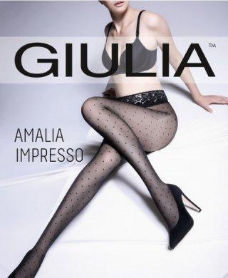 Amalia impresso 01 40 колготки Giulia (Джулия)