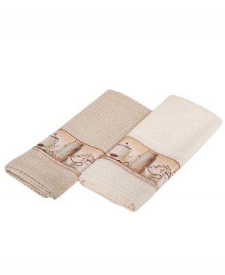 106 кухонное полотенце(махра) 2шт МЕКО-МК