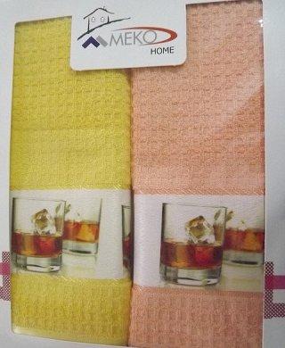 109 кухонное полотенце(вафельное)2шт Меко