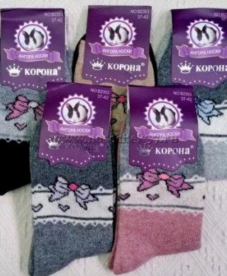 2353 носки термо женские ангора Байвэй