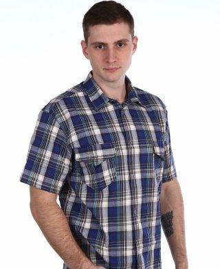 319 рубашка мужская кор.рукав Shaft (Шафт)