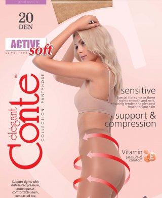 Active 20 XL колготки Conte(Конте)