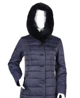 1667-5 пальто женское(мех) Klasika Moda