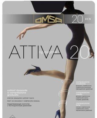 Attiva 20 XXL колготки Omsa (Омса)