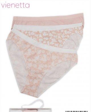 1604284101 трусы bikini (3шт) Vienetta