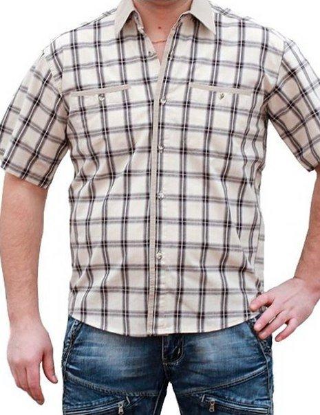 0319 рубашка мужская(к/р) Shaft (Шафт)