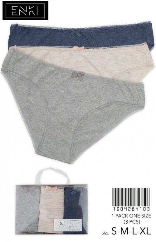1604284103 трусы bikini (3шт) Vienetta