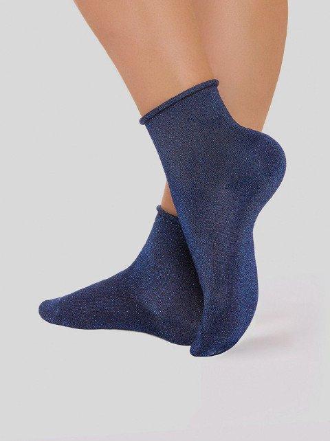 17С-16 classic (люрекс без резинки) носки женские