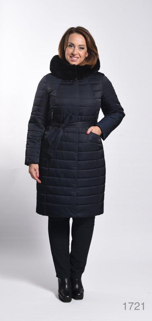 1721-T пальто женское(мех) Klasika Moda