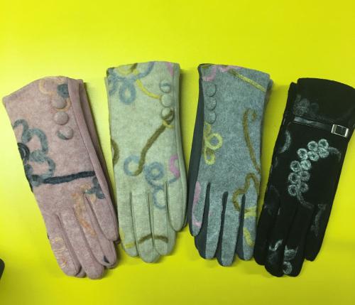 1 перчатки женские