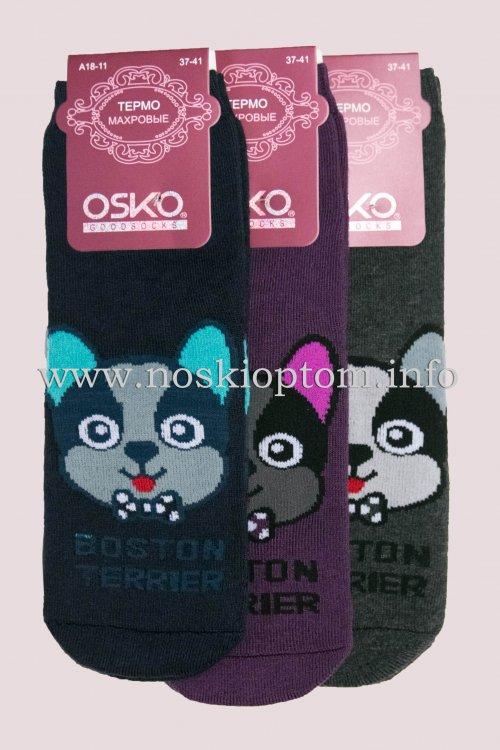 1857 носки женские махровые Osko