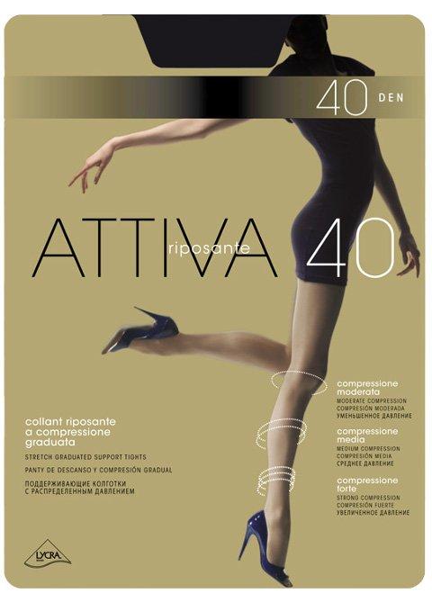 Attiva 40 XXL колготки Omsa (Омса)