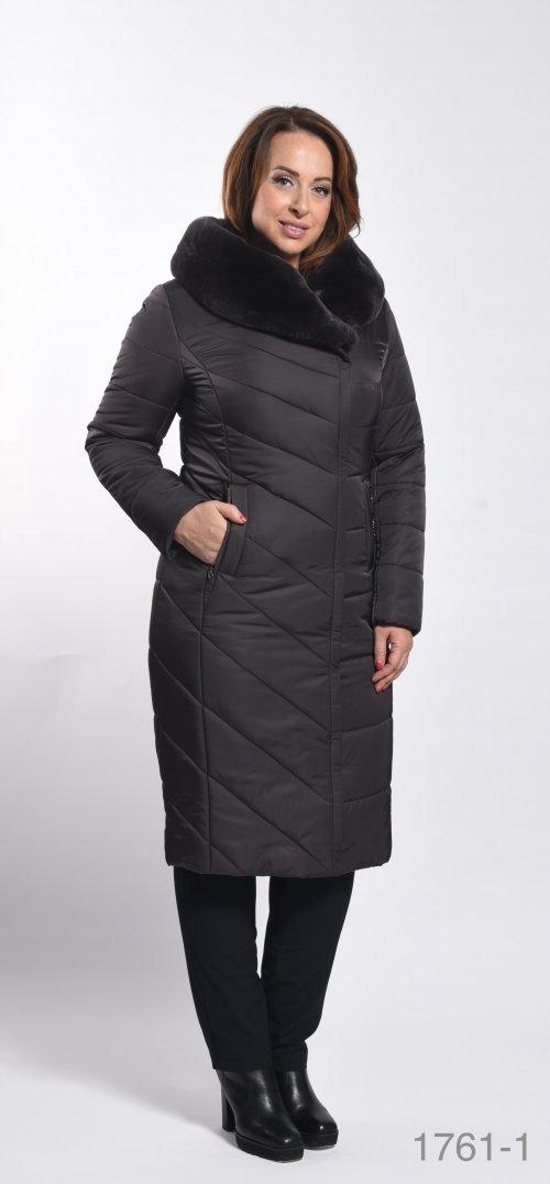 1861 пальто женское Klasika Moda