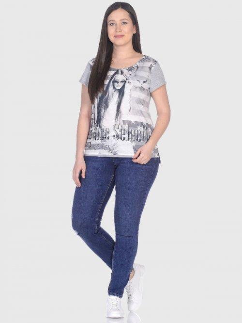 3652 футболка женская T.Sod(Т.Сод)