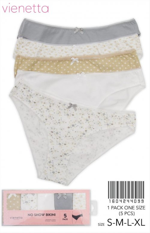 1604244099 трусы bikini (5шт) Vienetta