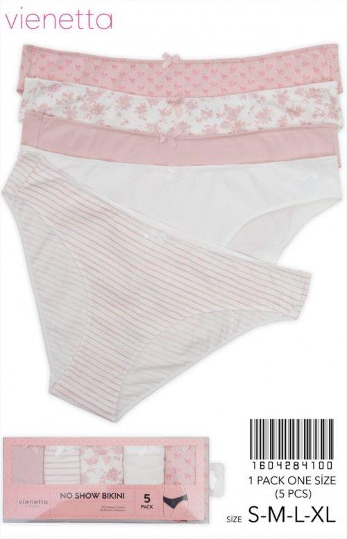 1604284100 трусы bikini (5шт) Vienetta